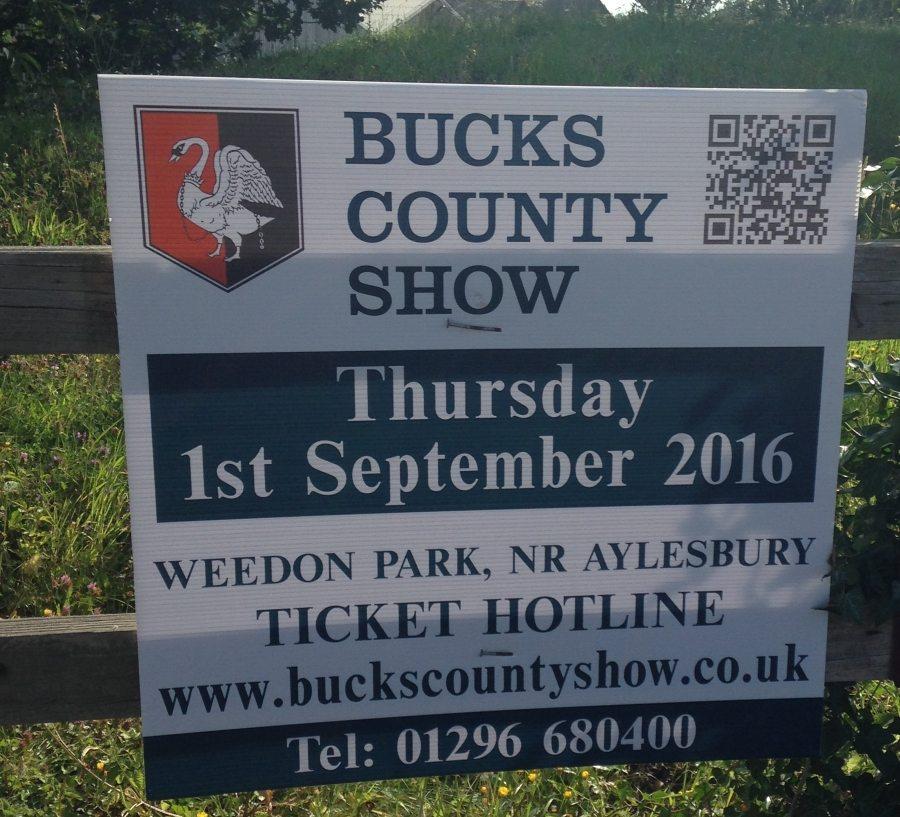 Bucks County Show 2017 - Street Sign